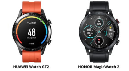 Honor Magic Watch 2 vs Huawei Watch GT2