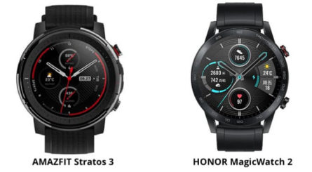 Honor Magic Watch 2 vs Xiaomi Stratos 3